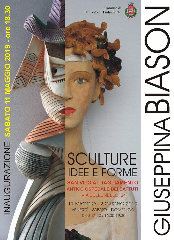 Giuseppina Biason Sculture Idee e Forme 11-05-2019