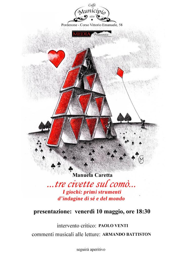 Manuela Caretta - Tre Civette sul Comò - 10-05-2019
