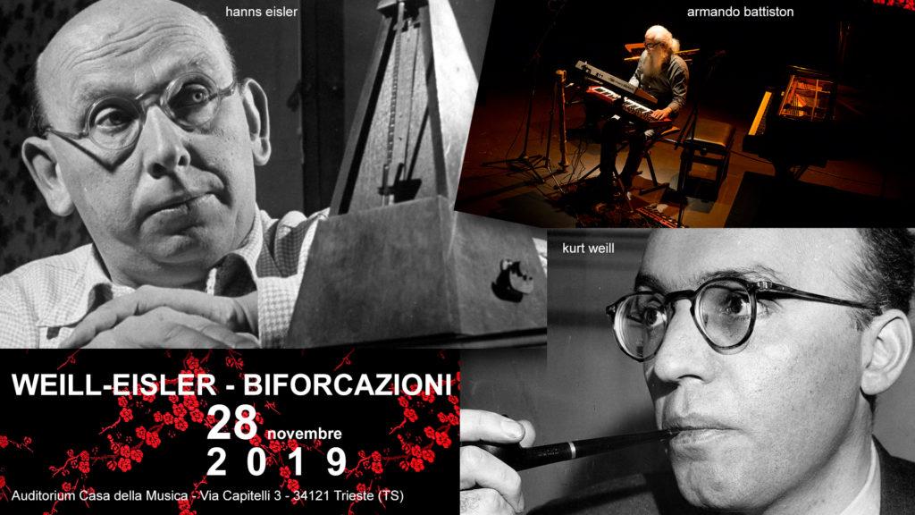 WEILL-EISLER - BIFORCAZIONI - Armando Battiston - 28 novembre 2019