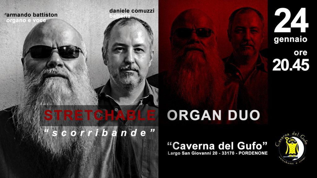 Armando Battiston - Stretchable Organ DUO