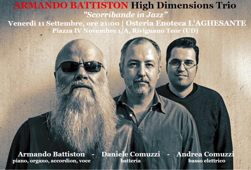 Armando Battiston all'Aghesante